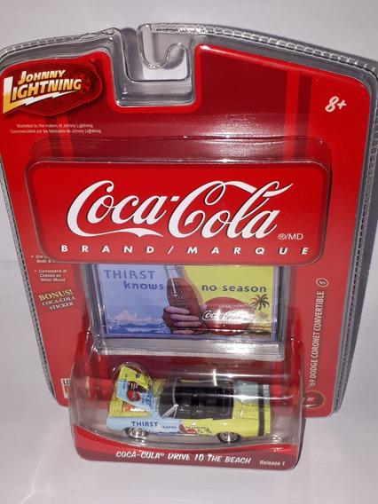 Johnny Lightning Coca Cola Dodge Coronet Convertible ´69 N°5