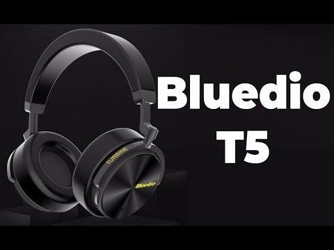 Fone Bluetooth 5.0 Bluedio T5 Preto Original Pronta Entrega