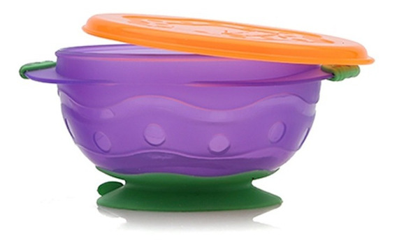 Bowl Con Sopapa Mediano Para Bebés - Baby Innovation