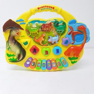 Piano Didactico Musical Dinosaurios Luz Y Sonido Ve Video