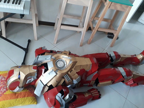 Armadura Homem De Ferro Mk17