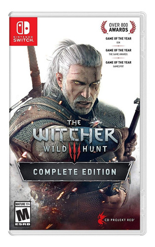 Imagen 1 de 4 de The Witcher 3: Wild Hunt Complete Edition CD Projekt Red Nintendo Switch Físico