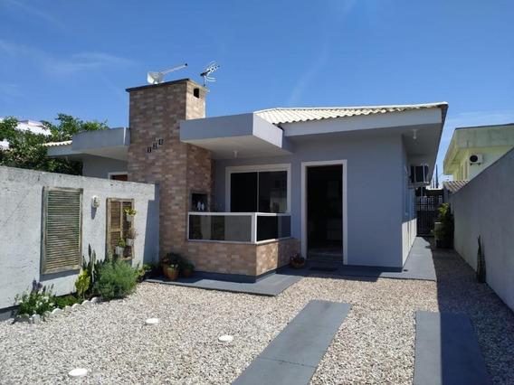 Casa Mobiliada, Com 2 Quartos E Suíte No Portal Da Barra, Palhoça Sc - Ca2454