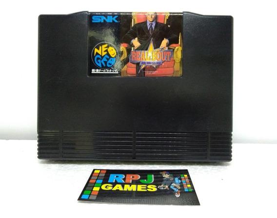 Real Bout Original Snk P/ Neo Geo Aes - Loja Centro Rj - &&