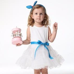 Vestido Festa Importado Bebê Pronta Brinde!