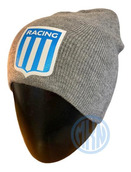 Gorro Lana Racing Club Escudo Premium