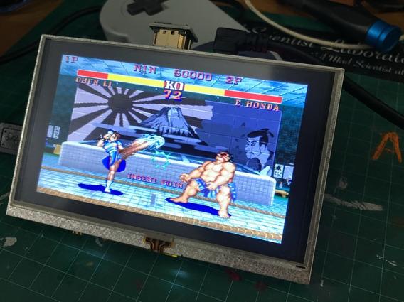 Lcd 5 Pol. C/ Touch 800x400pixel Hdmi Raspberrypi Retropie