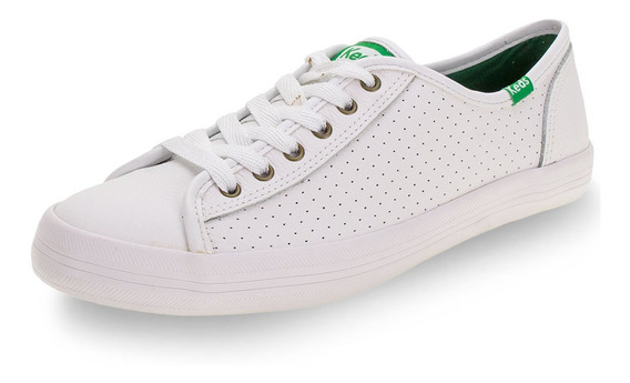 Tênis Champion Leather Keds - Kd10 Branco 01