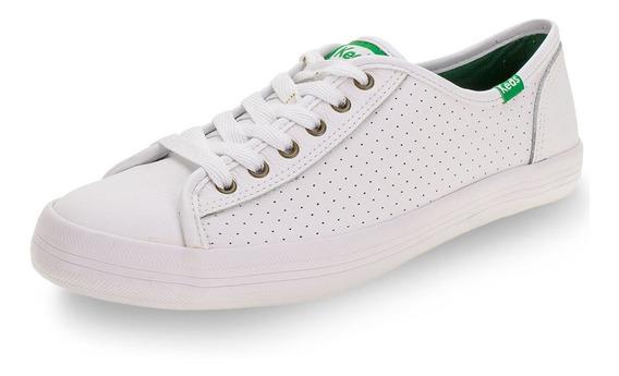Tênis Champion Leather Keds - Kd10 Branco 01