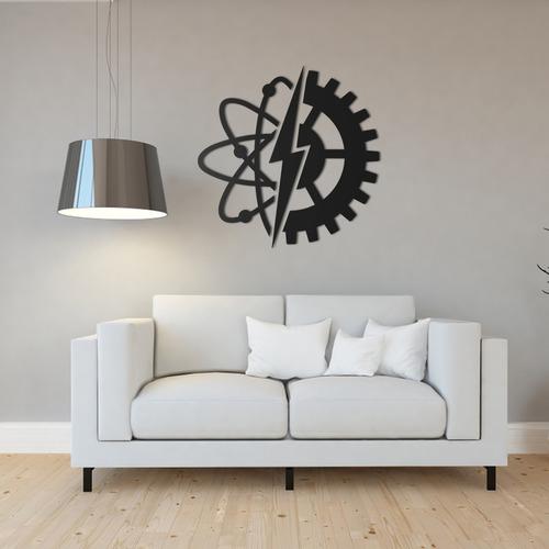 Imagem 1 de 1 de Quadro Decorativo Parede Profissões Engenharia Elétrica 60cm