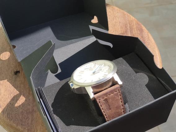 Relógio Puma Couro - Original - Acompanha Caixa