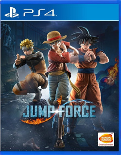 Jump Force Ps4 - Juego Fisico - Cjgg
