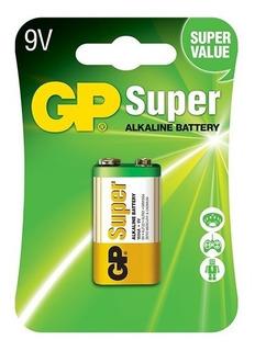 Gp Pila Super Alcalina 9v