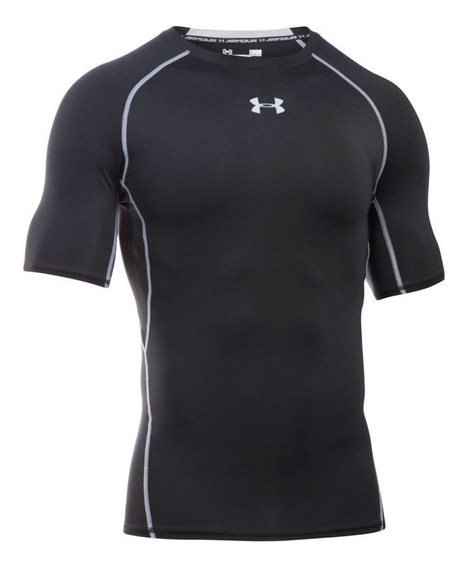 Remera Compress Under Armour Heatgear Negro