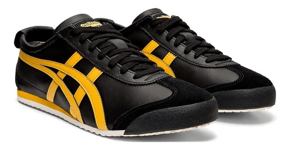 Tênis Mexico 66 Black/gold Onitsuka Original