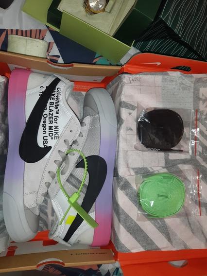 Tenis Nike Blazer Mid X Off White