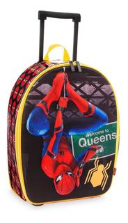 Maleta Spider-man Homecoming, Hombre Araña Con Ruedas