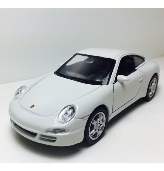 Carrinho Coleção Porsche Carrera 1:34 Metal Welly Promoção