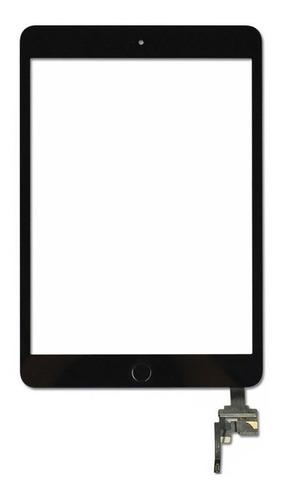 Imagem 1 de 4 de Tela Vidro Touch Para iPad Mini 3 A1599 A1600 Botão
