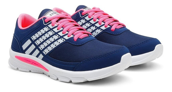 Tênis Caminhada Feminino Esporte Confortável Leve Macio