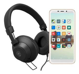 Smartphone Rca G2 5.5 Led 32gb Quad Core Blanco Y Dorado