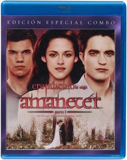 Crepúsculo Amanecer Parte 1 Ed. Especial Combo Blu-ray Dvd