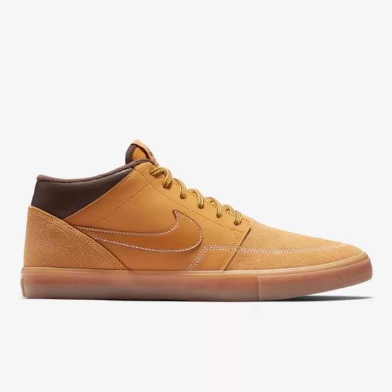 Tênis/ Bota Nike Sb Portmore Ii Solarsoft Mid