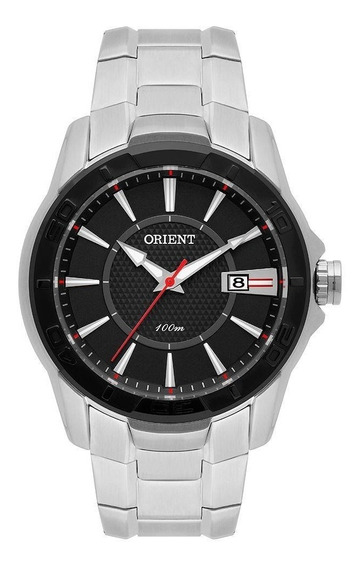 Relógio Masculino Orient Mbss1325-p1sx 42 Mm Aço Prata
