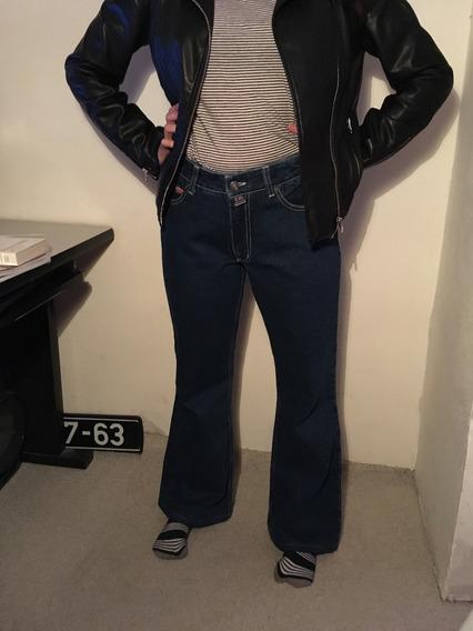 Jeans Mezclilla Dama Acampanados Retro Vintage Talla 7