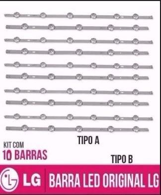 Kit Barras Led Lg 55lb5600