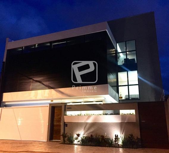 Linda Casa Triplex Com Piscina No Centro De Balneario Camboriu - 3834