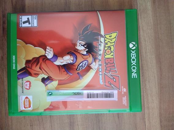 Jogo Dragon Ball Z Kakarot Xbox One (mídia Física)