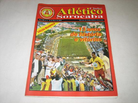 Clube Atlético Sorocaba - Nº 1 - Edição Histórica - 13/5/04