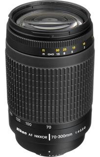 Lente Objetivo Nikon Nikkor 70-300mm F/4-5.6 Af G Parasol