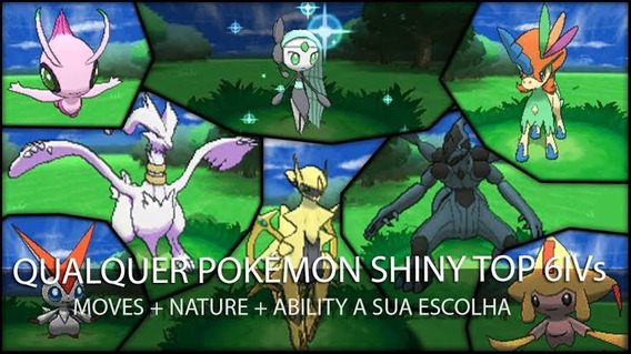 (leia A Descrição) 10 Pokemon Sun E Moon, Usum, Xy E Oras