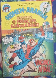 O Homem - Aranha X Namor, O Príncipe Submarino, Nº 8 Em Core