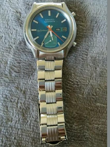 Reloj Seiko 5 Sport Speed Timer Cal.6139a 1974 Automático