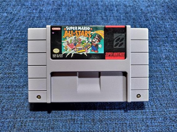 Super Mario All Stars Snes Super Nintendo Original 100%