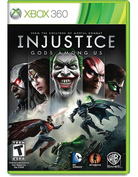 Injustice Gods Among Us Xbox 360 Midia Física