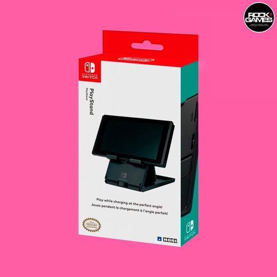 Base Suporte Playstand Hori Para Nintendo Switch - Original