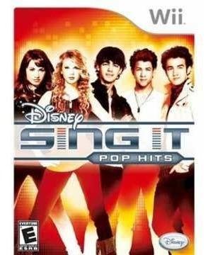 Jogo Lacrado Disney Sing It Pop Hits Para Nintendo Wii