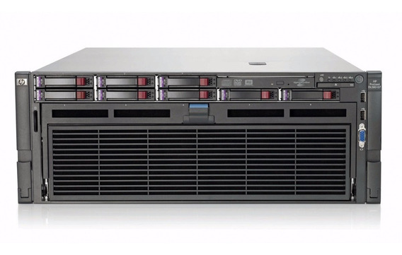 Servidor Hp Proliant Dl580 G7 4xeon Octa X7560 64gb 2sas 300