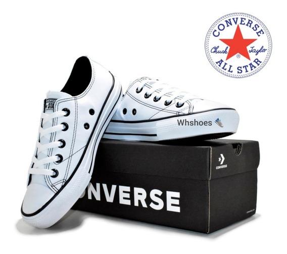 Tênis All Star Converse Couro E Lona Super Promoção 60% Off