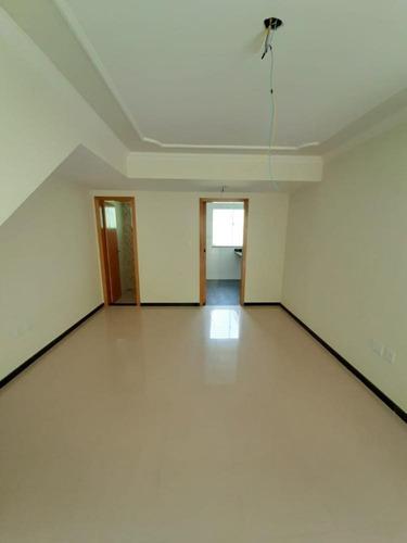 Imagem 1 de 11 de Casa Duplex À Venda, 2 Quartos, 1 Vaga, Mantiqueira - Belo Horizonte/mg - 2167