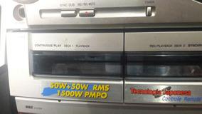 Aparelho De Som Aiwa Nsx Sz21 Completo Barato 380 Reais