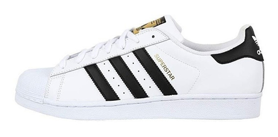 Tênis adidas Superstar - Branco/preto
