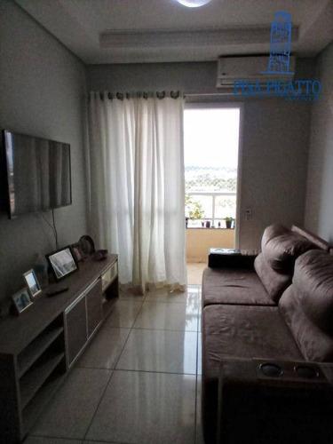 Imagem 1 de 30 de Apartamento Com 3 Dormitórios À Venda, 77 M² Por R$ 500.000,00 - Jardim Dos Calegaris - Paulínia/sp - Ap1183