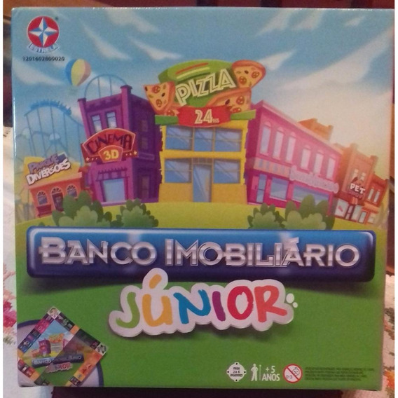 Banco Imobiliario Junior Da Estrela - Bonellihq L18