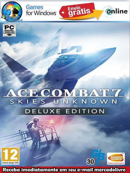 Ace Combat 7 Skies Unknown Deluxe Edition Pc Digital