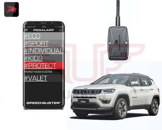 Gas Pedal Speed Buster App Bluetooth Jeep Compass